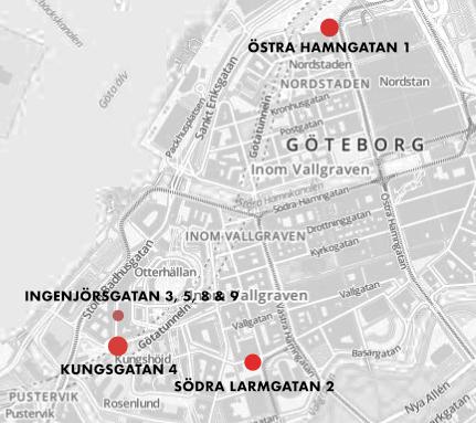 Våra Coworking kontorshotell i centrala Göteborg